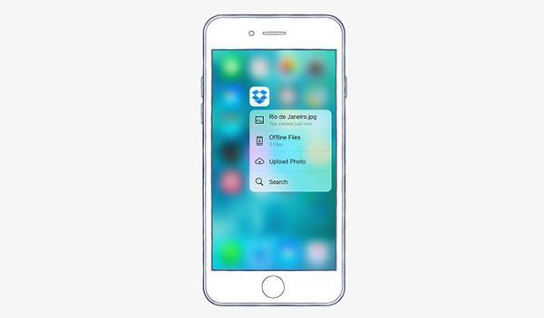 iOS için Dropbox güncellendi, 3D Touch desteği geldi