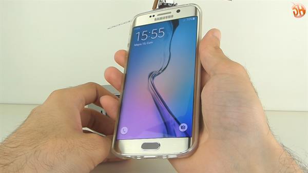 Samsung S6 Edge ve S6 Edge Plus için Spigen şeffaf kılıflar inceleme videosu