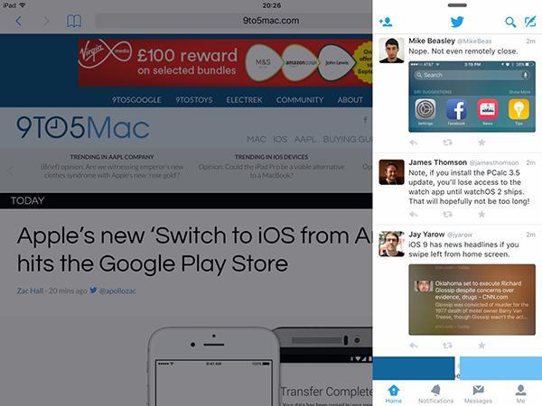 Twitter da iOS 9 desteği kazandı