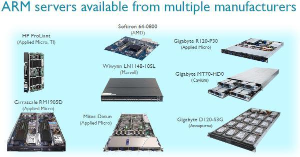 2020 yılında sunucuların yüzde 25'inde 64-bitlik ARM işlemciler olacak