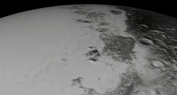 Nasa, Plüton'un fotoğraflarını bir araya getirerek oluşturduğu videoyu yayınladı