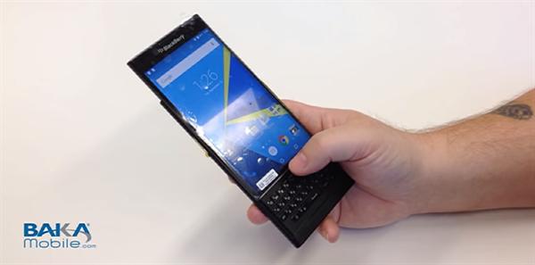 BlackBerry Venice'in çalışır halde görüldüğü yeni bir video sızdırıldı