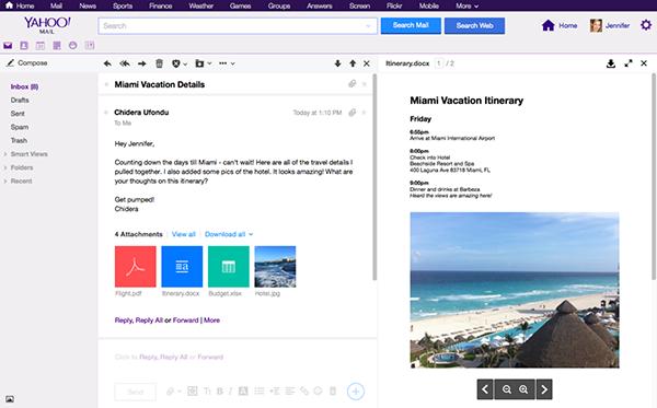 Yahoo Mail, çoklu görüntüleme desteği kazandı