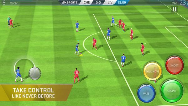 FIFA 16 Ultimate Team iOS için indirmeye sunuldu