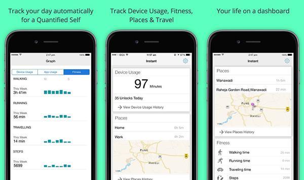 iOS için yeni aktivite takip uygulaması: Instant