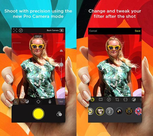 iOS uyumlu Hipstamatic Camera ücretsiz yapıldı