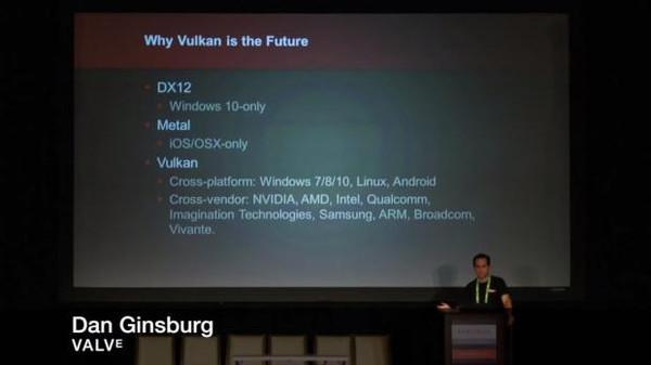 Valve : Vulkan platformu DirectX 12'den daha iyi