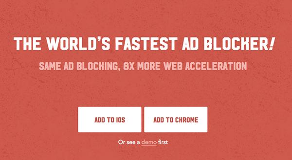 iOS, Opera ve Chrome için Adblock Fast kullanıma sunuldu