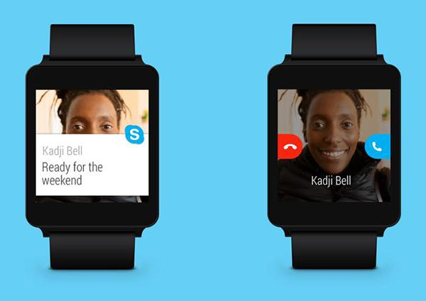 Android için Skype, akıllı saatler odağında yeni özellikler kazandı