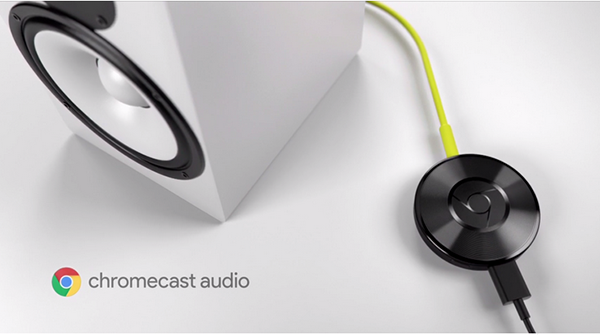 Google'dan kablosuz müzik keyfi: Chromecast Audio