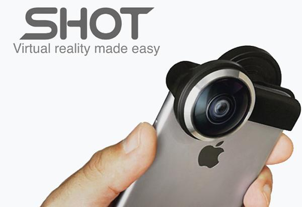 Yeni Kickstarter projesi SHOT, iPhone'ları bir sanal gerçeklik kamerası haline getiriyor