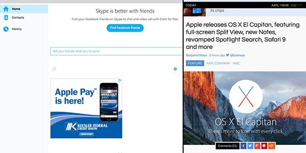 Mac için Skype yenilendi
