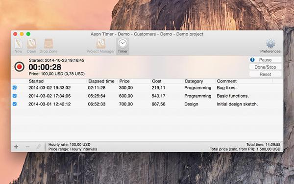 İş odaklı zamanlayıcı Aeon Timer artık ücretsiz