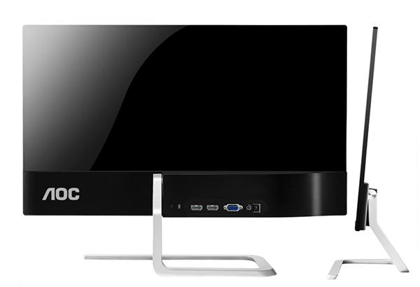 AOC'nin 23.8-inçlik yeni monitörü tasarımı ve inceliğiyle dikkat çekiyor