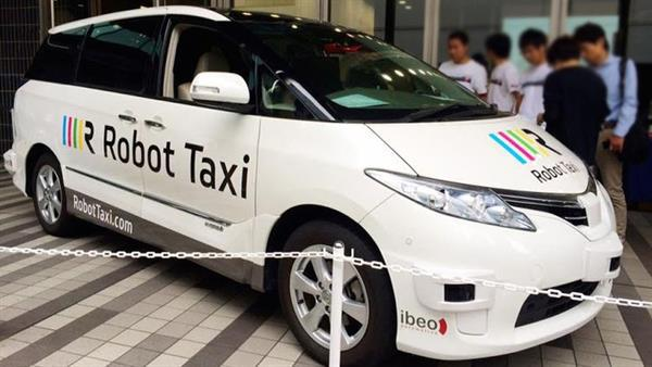 Japonya sürücüsüz robot taksileri 2016'da test etmeye başlayacak