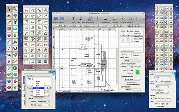 Mac uyumlu vektör tasarım uygulaması EazyDraw ücretsiz yapıldı
