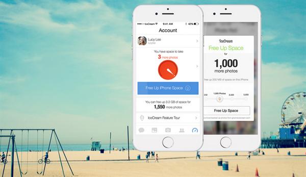 iOS uyumlu IceCream uygulamasıyla depolama sorunları ortadan kalkıyor