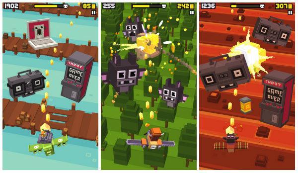 Crossy Road geliştiricisinden yeni bir shooter oyunu