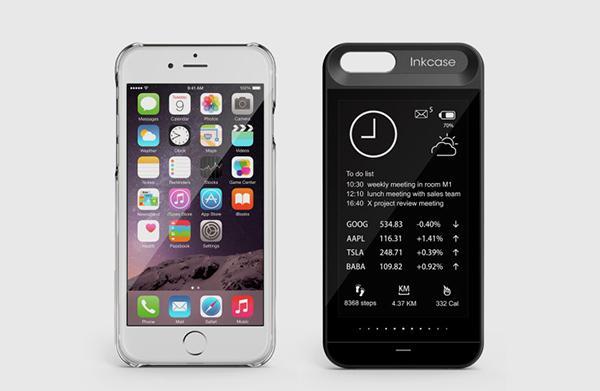 iPhone 6 ve iPhone 6S'e ekran takviyesi: InkCase i6