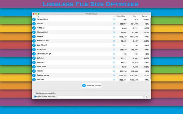 Mac uyumlu File Optimizer, artık ücretsiz
