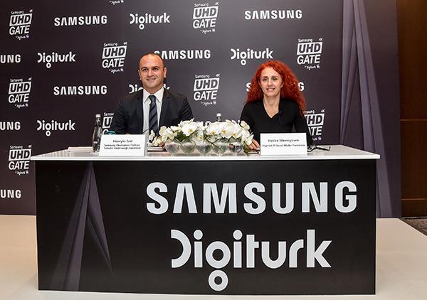 Samsung ve Digiturk'ten 4K içerik işbirliği