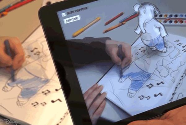 Disney Research'den boyama kitaplarını canlandıran uygulama