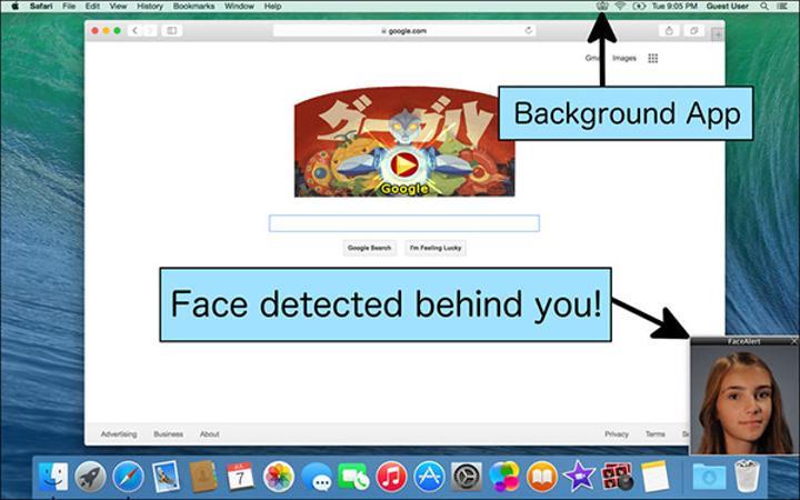 Meraklı gözleri uyaran Mac uygulaması FaceAlert, ücretsiz yapıldı