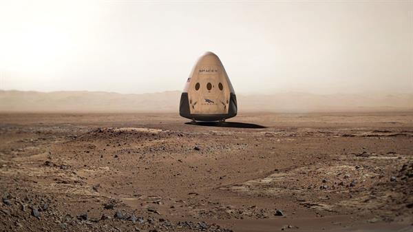 Kızıl gezegene ilk insanlı uçuşu gerçekleştiren SpaceX olabilir