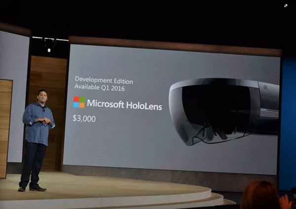 Microsoft HoloLens'in