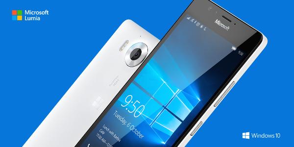 Lumia 950 XL'e küçük kardeş : Lumia 950