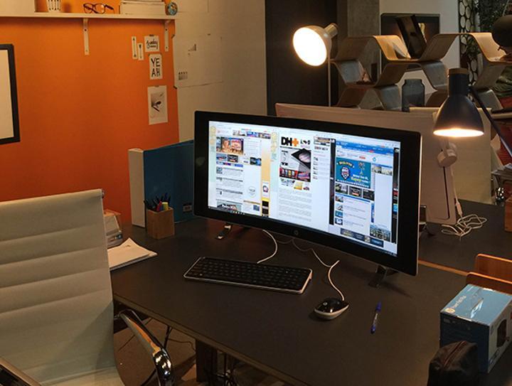 HP'den 32-inç'lik kavisli ekrana sahip hepsi bir arada bilgisayar