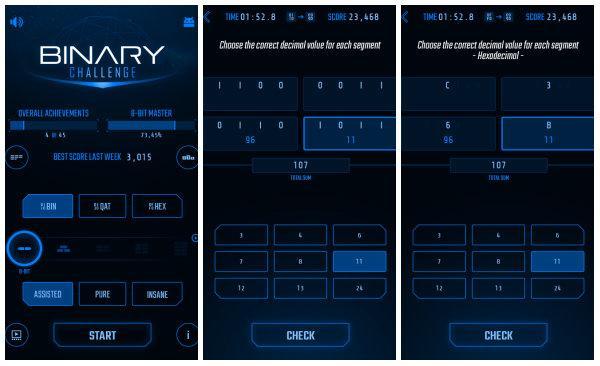 Binary Challenge size ikili sayı sistemini öğretmeye kararlı