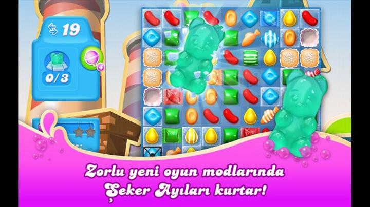 Candy Crash Soda Saga Windows Phone'da