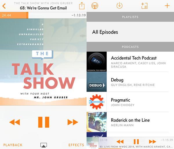 Marco Arment, iOS uyumlu podcast uygulaması Overcast ile yeni bir iş planı denemeye başladı