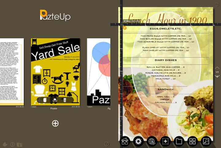 Tasarım odaklı iPad uygulaması PazteUp artık ücretsiz
