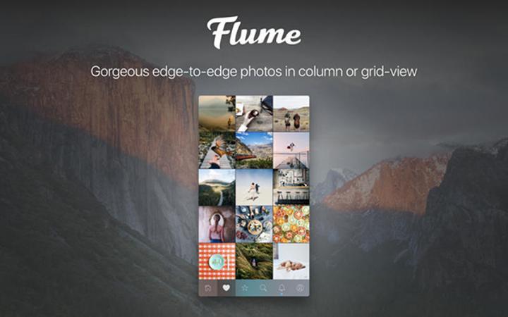 Mac uyumlu yeni Instagram istemcisi: Flume