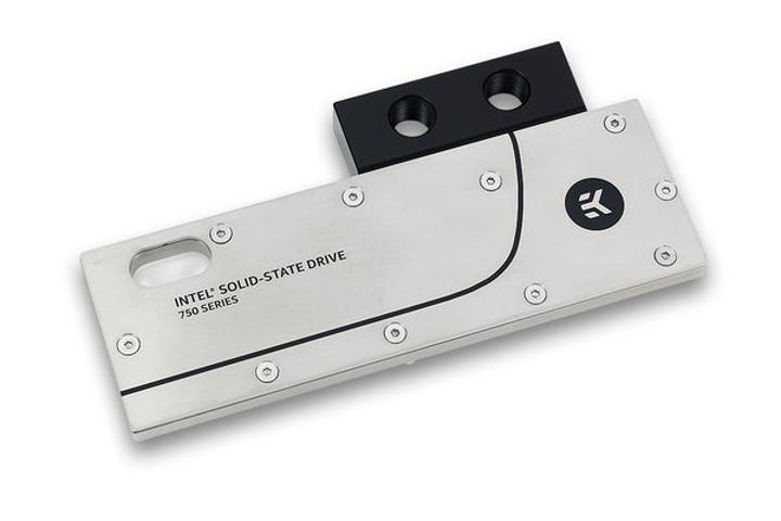 EKWB sıvı soğutma tecrübesini SSD sektörüne taşıyor