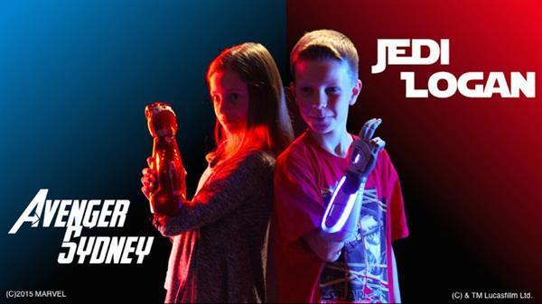 Film karakterinden esinlenilerek gençler için üretilen protez kollar uygun fiyattan satışa çıkacak