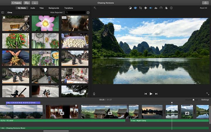 Apple, iMovie'ye 4K çözünürlük desteği ekledi