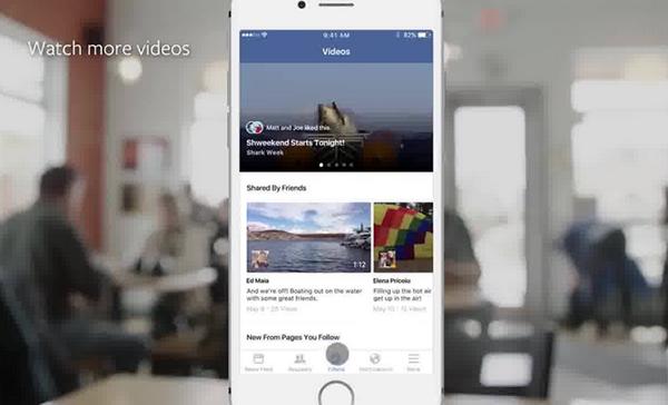 Facebook, özel video sayfasını test ediyor