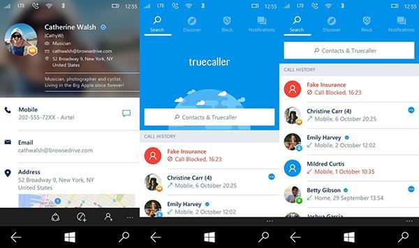 Windows Phone için Truecaller güncellendi, yeni tasarım geldi