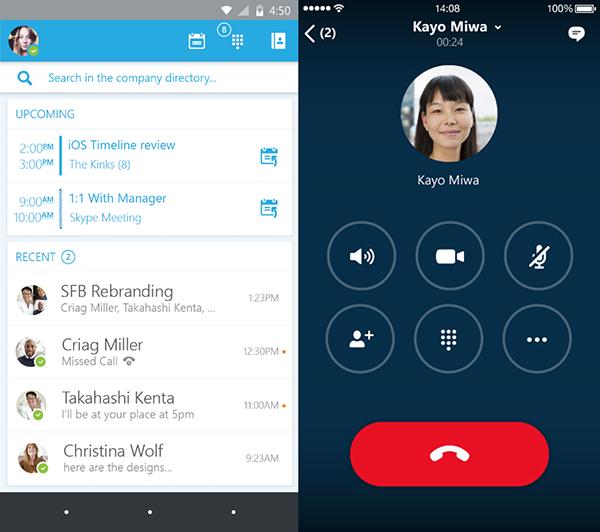iOS için Skype for Business kullanıma sunuldu