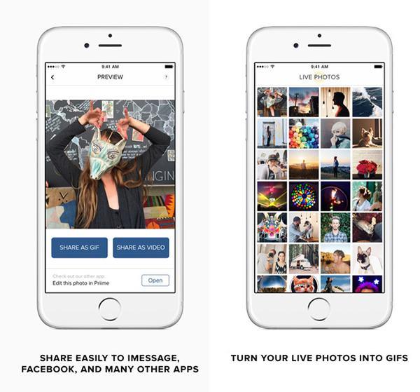 Canlı fotoğraflara özel yeni iOS uygulaması: Live GIF