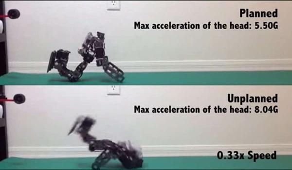 Georgia Tech'in yeni algoritması robotlara doğru düşmeyi öğretiyor