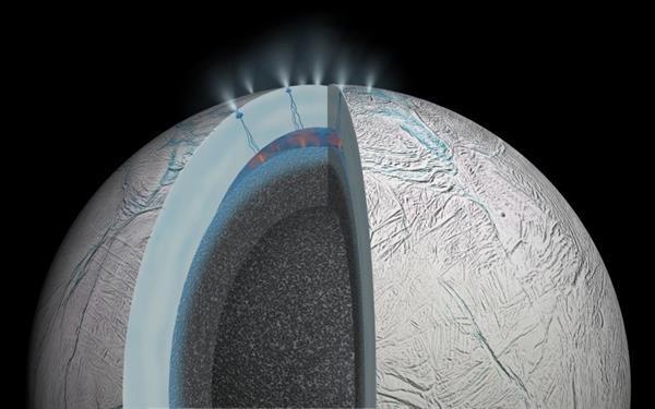 NASA aracı Satürn'ün uydusunu yakından görüntüleyecek