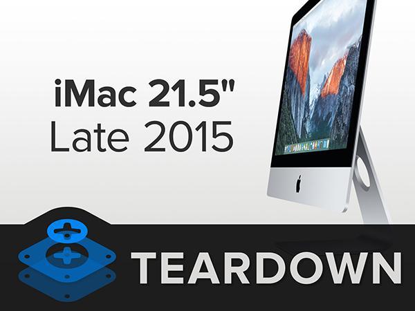 iFixit, 4K ekranlı 21.5-inç iMac'i es geçmedi