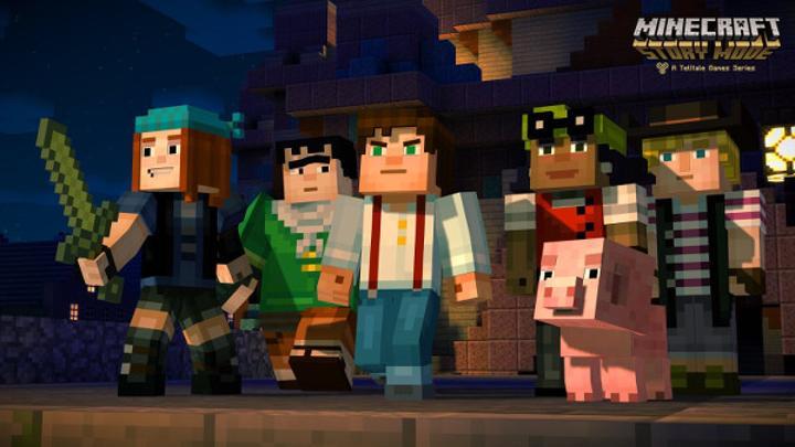 Minecraft: Story Mode ilk bölümüyle mağazalardaki yerini aldı