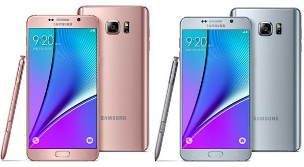 Samsung, Galaxy Note 5'in