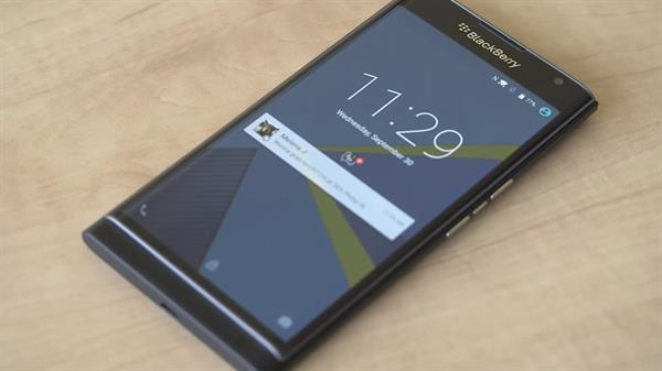 Blackberry Priv'in ilk reklamı yayınlandı