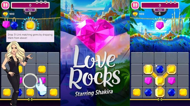 Rovio'dan Shakira temalı renk eşleme oyunu